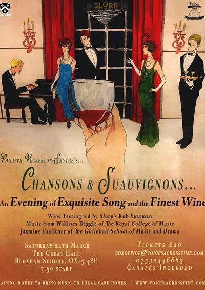 Chansons & Sauvignons: An evening of wine tasting and song