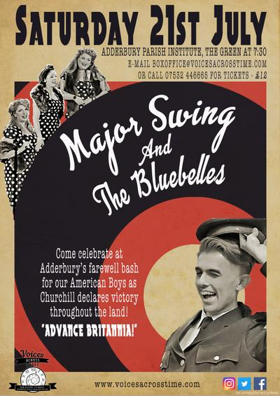 "Major Swing and the Bluebelles:  ""Advance Britannia!"", 1945"